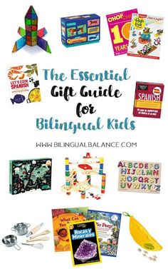 The Essential Gift Guide for Bilingual Kids - Bilingual Balance