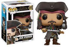 Pirates of the Caribbean 5 - Jack Sparrow Funko Pop! Vinyl Figure | Popcultcha