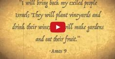 The ancient prophecies come to life in Israel; watch this amazing video and you'll be sold!