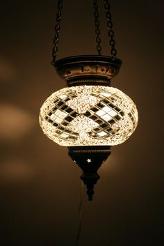 Turkish mosaic lamp available to order!