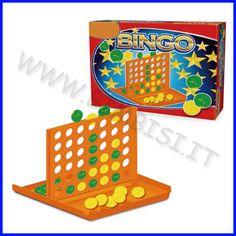 COMBINA 4    Un gioco tradizionale ma sempre divertente che stimola le capacità logico/strategiche, la competizione e quindi la socializzazione.  Occorre posizionare 4 pedine dello stesso colore, una in fila all'altra, in verticale, in orizzontale o diagonale.