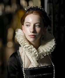 Lady Anne Bolyen's daughter Elizabeth, who became the most famous Queen of England. My favorite daughter of the Tudors.