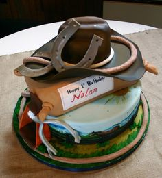 Cowboy Cake  on Cake Central