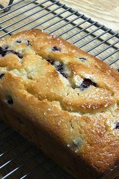 Blueberry Bread Recipe, Blueberry Recipes, Lemon Recipes, Cake Recipes, Dessert Recipes, Blueberry Cake, Bread Recipes, Delicious Desserts, Yummy Food