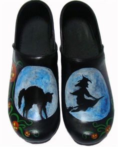 Halloween clogs are creeping onto our site!! check them out and more www.ASAPainted.com