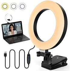 Amazon has the JALIELL Video Conference Lighting Kit, Circle Ring Zoom Light for Computer, Adjustable Video Lighting Colors for Live Streaming, Selfies, Vlogging, Remote Meetings, Photography, Makeup (Small) marked down from $19.99 to $7.99. That is $12.00 off retail price! TO GET THIS DEAL: GO HERE to go to the product page and click on…