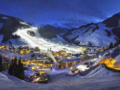 Skifahren in Saalbach-Hinterglemm