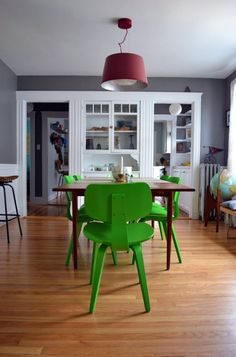 Green: Clytie & Claudia's Storied Pieces — Pride At Home: House Tour Greatest Hits | Apartment Therapy