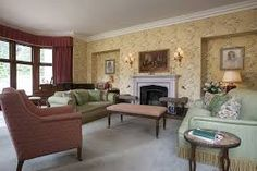 Image result for abbotsford hope scott wing English Decor, Decor Styles, Couch, Furniture, Home Decor, Image, Settee, Decoration Home, Sofa