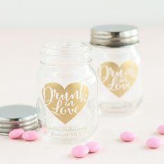 Printed Mini Mason Jars & 103 Best Wedding- GUEST GIFTS images | Wedding giveaways Wedding ...