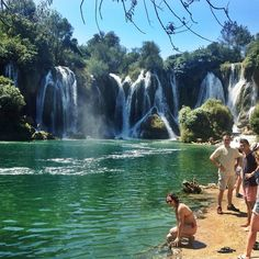 Just 40 kms outside of Mostar, Kravice Waterfalls is the absolute perfect place to spend a summer day.