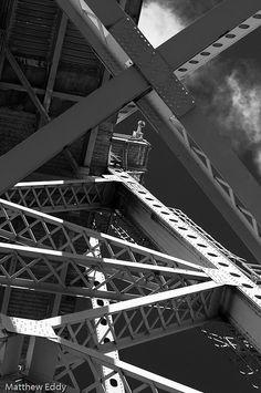 Blue Water Bridge - Michigan 2011 by eddy.matt, via Flickr
