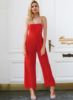 a0f8ed1a8d70 21 Best red jumpsuit images