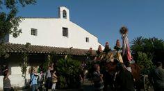 L'arrivo della Bandiera alla chiesa di San Giovanni dei Fiori