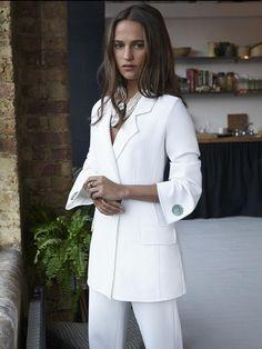Alicia Vikander Style Files (Marie Claire Magazine) -Giorgio Armani