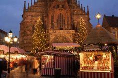 Nuremberg, Germany, Christkindlesmarkt.