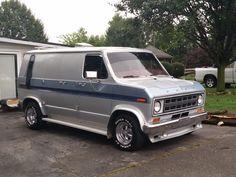 Custom VANS natural BABES & other bad ass transportation. Dodge Van, Chevy Van, Customised Vans, Custom Vans, Model Truck Kits, Old School Vans, Vanz, Cool Vans, Van Interior