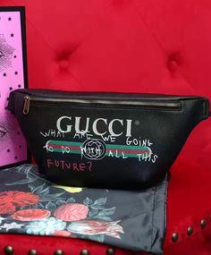 Gucci Coco Capitan logo belt bag 493869. 2017 Hottest #Gucci #Handbags For Fashion Women To Wear.