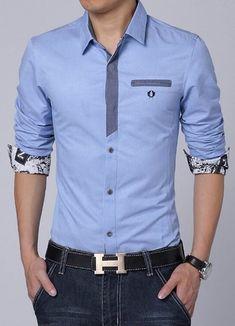 Camisa Casual Elegante - Detalles Fashion - en 4 Colores