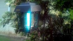 The best mosquito tech solutions: the Flowtron electronic insect killer covers 1.5 acres of mosquito territory.