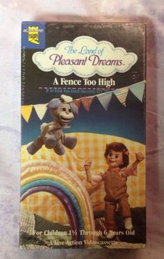 Land-of-Pleasant-Dreams-A-Fence-Too-High-live-action-VHS-New-Sealed-RARE