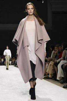 #Trend Hunter Fall/Winter 2014/2015: Capes & Ponchos --- #Chloé Ready To Wear Fall Winter 2014 #Paris ---