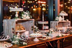 Outdoor Dessert Table, Elegant Dessert Table, Dessert Table Backdrop, Dessert Bar Wedding, Elegant Desserts, Wedding Sweets, Dessert Decoration, Dessert Tables, Wedding Table
