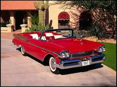 1957 Mercury Montclair Convertible   368/290 HP, Automatic