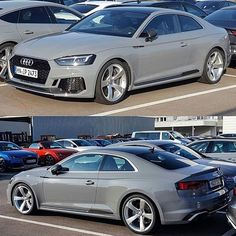 After the new RS5 in  1️⃣ #redRS5 2️⃣ #blueRS5 and 3️⃣ #greenRS5 now in #greyRS5 = #Nardogrey -- #Audi #newRS5 ---- picture @gentic77 oooo #audidriven - what else ---- -- #AudiRS5 #RS5 #RS5Coupe #quattro #4rings #AudiSport #drivenbyvorsprung #audirsperformance #carsbyaudisport #teamnardo #newrs5color