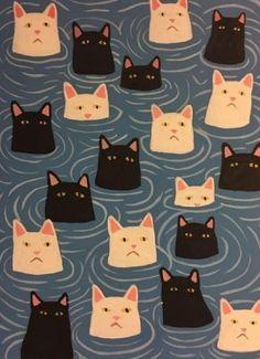 Cats in Art and Illustration: Danial Ryan Doodles Bonitos, Art Mignon, Motifs Animal, Cat Room, Wow Art, Cat Drawing, Aesthetic Art, Cute Art, Art Inspo