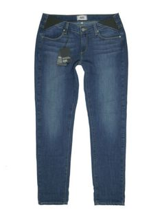 7c6640024cec6 Details about $199 NWT Paige Denim Jimmy Jimmy Skinny Maternity Jean in  Rebecca Size 28