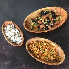 Snacking has never looked so good 😍 Crafted from Olive Wood, these beautiful Oval Dishes are a gorgeous addition to any coffee table. Aga, House In The Woods, Kitchenware, Fun Crafts, Home Accessories, Snacks, Dishes, Coffee, Vegetables