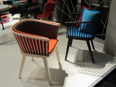 IMM Cologne 2012 Secreto armchair by Col'e
