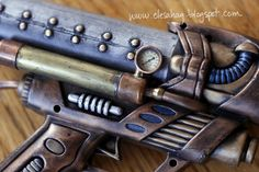 Elesa Hag's tutorial to convert a plastic water gun into a steampunk masterpiece. How she made the gauge is brilliant.