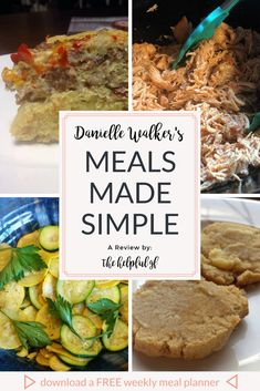Danielle Walker's cookbook Against All Grain: Meals Made Simple contains over 100 recipes for gluten-free, dairy-free, and paleo food to make in your own kitchen any time! I tried out a couple recipes—pin now and click through to see what I thought! #glutenfreepaleo #cookingathome #paleocookbook