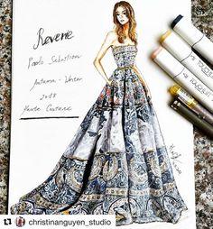 44 New ideas fashion ilustration croquis art Dress Design Drawing, Dress Design Sketches, Fashion Design Sketchbook, Fashion Design Drawings, Fashion Sketches, Fashion Figure Drawing, Fashion Drawing Dresses, Dress Illustration, Fashion Illustration Dresses