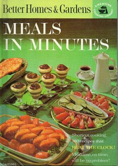 Better Homes and Gardens Meals in Minutes by HartsHouseofVintage