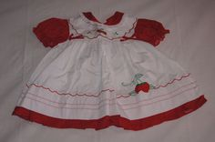 Vintage 1980's Baby Dress with by TheMercerStreetHouse on Etsy