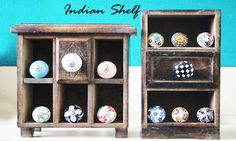Bright and colorful ceramic knobs to dress up your elegant furniture by #indianshelf #drawerknobs #knobs http://goo.gl/uwPaZ7
