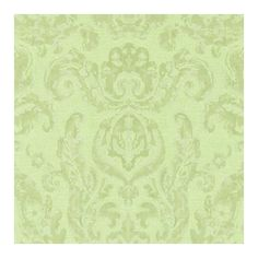 Zoffany Brocatello Damask Wallpaper ($105) ❤ liked on Polyvore featuring home, home decor, wallpaper, zoffany, damask home decor, pattern wallpaper, light green wallpaper and damask pattern wallpaper