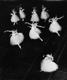 Swan Lake at the Stuttgart Ballet, c. 1954.