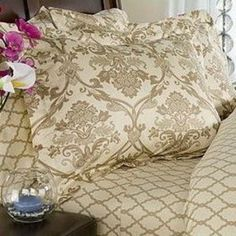 French Country Bed Linens | 500tc Taupe/Cream French Toile Duvet Comforter Cover Set review | buy ...
