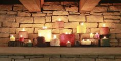 We carry Warm Glow Candles!  These are extra yummy and quite decorative.  Made in the USA.