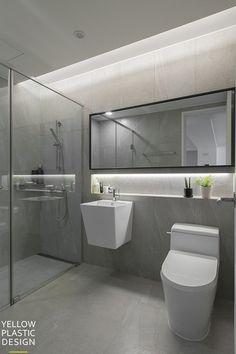 Bathroom small mirror interior design Ideas for 2019 Beautiful Bathroom Decor, Stylish Bathroom, Bathroom Inspiration Decor, Bathroom Design Styles, Bathroom Style, Bathroom Interior Design, Small Toilet Design, Bathroom Sink Remodel, Mirror Interior Design