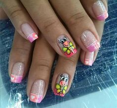 Manicure Y Pedicure, Cool, Nails, Fingers, Mary, Beauty, Finger Nails, Decorations, Kid Nails