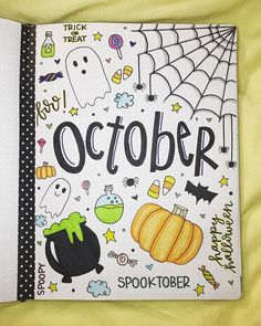 25 October Bullet Journal Spread Ideas for Fall and Halloween 2021 - Beautiful Dawn Designs
