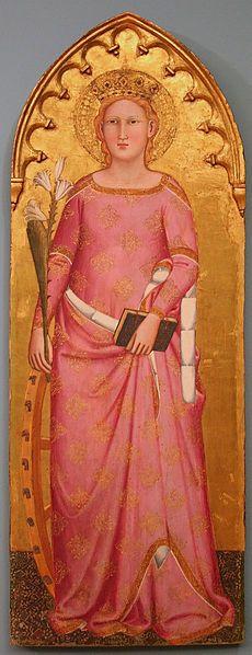 Saint Catherine of Alexandria ca. 1365