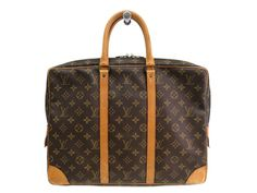 LOUIS #VUITTON Porte-documents voyage Briefcase Monogram M53361 (UJ105462). #eLADY global offers free shipping worldwide. For more pre-owned luxury brand items, visit http://global.elady.com