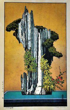 Toshi Yoshida - Waterfall