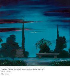 #5 Gradina pentru Dinu Pillat IV Rene Magritte, Night Light, Modern Art, Aquarium, Mystery, World, Garden, Painting, Magic